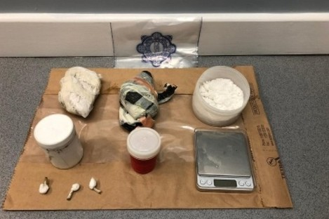 Gardaí say that the drugs seized were worth €72,000.