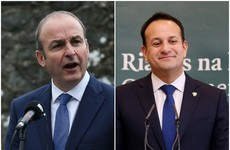 Both main parties lose ground as Fine Gael retains slim lead over Fianna Fáil in latest opinion poll