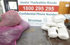 Number of parcels seized by Revenue containing illegal drugs has almost doubled on last year