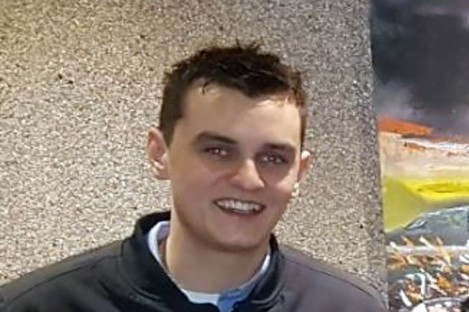 Lee Early, aged 26, died this morning after a car slipped off a pier in Donegal.