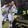 Ronaldo reaches 99 international goals as holders Portugal qualify for Euros