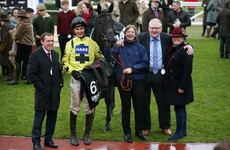 Harambe wins by a neck in Cheltenham thriller