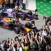 Verstappen wins crazy Brazilian Grand Prix as both Ferraris crash out