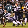Super Bowl champions Patriots use trick play to edge Eagles and exact revenge