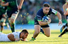 'He's brilliant' - Blade pushes Ireland claims as Boyle shines for Connacht
