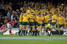 Sound familiar? Wallabies beat Wales with last kick to win series