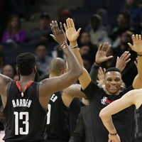 Harden and Westbrook extend win streak, while Doncic joins LeBron with record feat