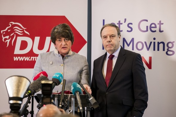 Arlene Foster challenges Sinn Féin to condemn IRA shooting of her father
