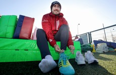 Hanrahan returns to Munster training ahead of huge clash with Racing