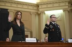 Impeachment probe told of 'improper' Trump phone call with Ukraine leader