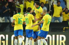 Brilliant Coutinho free kick the highlight as win eases the pressure on Brazil boss
