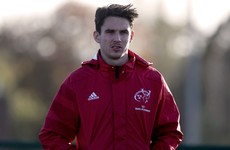 Munster insist there's 'no frustration' at Carbery returning from World Cup injured