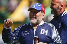 Diego Maradona steps down from Argentine club after just two months in charge