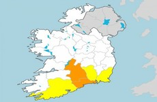 Spot flooding expected as Orange and Yellow rain warnings issued by Met Éireann