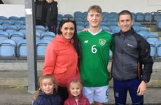 Son of Olympians Rob and Marian Heffernan scores for Ireland U15s