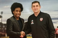Derry City beat off competition to bring in striker Walter Figueira