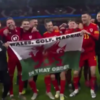 Bale's 'Wales. Golf. Madrid. In that order' flag causes latest problem for Zidane