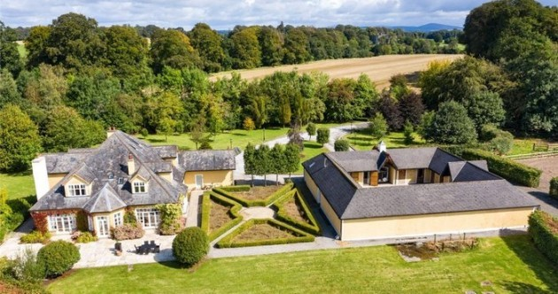 Light-filled €1.85m home with a tennis court, stables - and your own private island