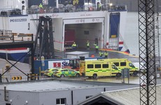 16 people discovered in container on ferry bound for Rosslare Port