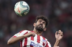 Neck injury rules Costa out for three months