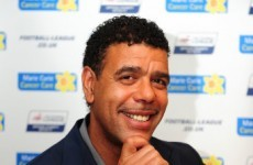 Chris Kamara shares his Father's Day gift with the world
