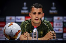 Xhaka feels ready for Arsenal comeback, says boss Emery