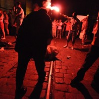 Polish photojournalist sends us first-hand account of violence