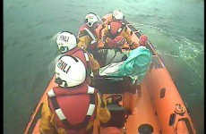 Bundoran Lifeboat busy at Mullaghmore triathlon