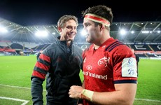 Larkham enthusiastic about Munster's attack progress as Racing come to town