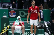 Tearful Troicki says sorry as Serbia suffer heartbreaking Davis Cup defeat to Russia