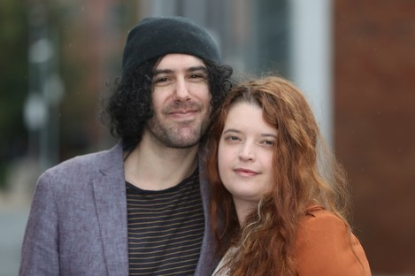 Emma DeSouza and her US born husband Jake