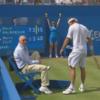 VIDEO: David Nalbandian kicks an old man in the shin