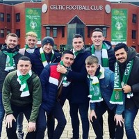 Dublin's five-in-a-row All-Ireland winners were honoured at Celtic Park yesterday