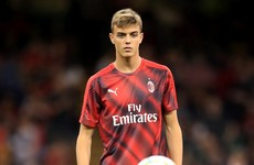 AC Milan legend's son continues family tradition at club