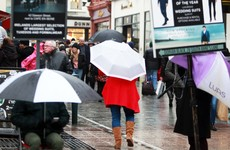 Rain forecast throughout the week but it 'should become somewhat drier by Friday'