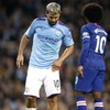 Aguero will miss Manchester derby after limping off in win over Chelsea