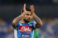Napoli dealt injury blow ahead of Liverpool clash