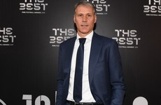 Dutch great Van Basten suspended by broadcaster for Nazi quip