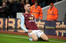 Free-kick from Ireland's Hourihane sets Aston Villa on way to victory over Newcastle
