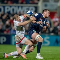 Ulster's Addison cited for tackle in Clermont win