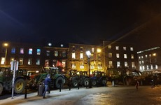 Tractor protest set to continue overnight as gardaí announce road closures in Dublin