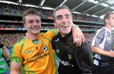 'Jim McGuinness introduced me to the panel and said, 'He'll be playing for the next 20 years''