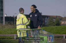 Virgil van Dijk provides heartwarming moment by surprising lifetime Liverpool fan