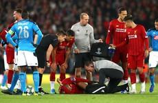 Liverpool suffer Fabinho setback