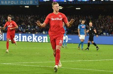 Teenager Haaland makes Champions League history