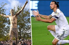 Ibrahimovic statue set on fire by angry Malmo supporters
