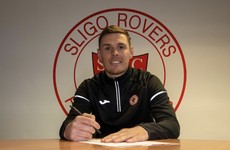 Sligo Rovers snap up 2017 double winner Garry Buckley from Cork City