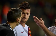 Roma star hit by coins in Europa League clash