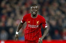 'Tiredness is in the head' - Mane dismisses Liverpool fixture fears as he insists he doesn't dive