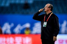 Rafa Benitez 'helpless' as thrashing compounds slow start in China